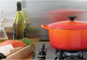 Cocotte céramique pour une cuisson sans graisse