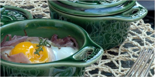 œuf en cocotte