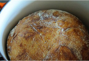 Recettes de miche de pain de campagne en cocotte