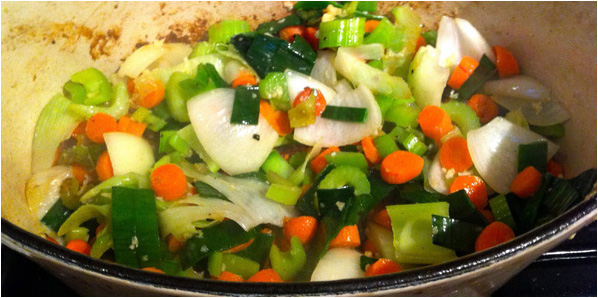 soupe de légumes cocotte minute